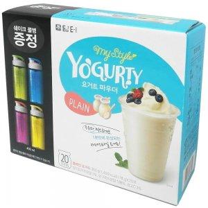 yogur en polvo