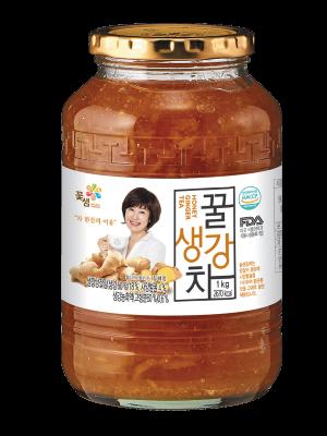 Dalcom cha, Honey Ginger Cha, Infusión de jengibre