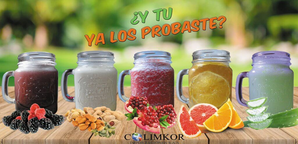Dalcom cha, Infusiones a base de frutas sin preservantes